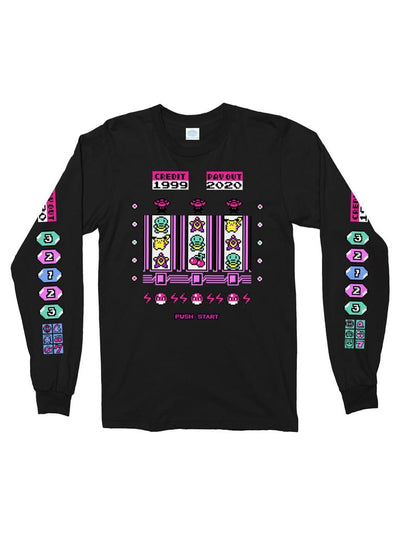 game corner long sleeve t