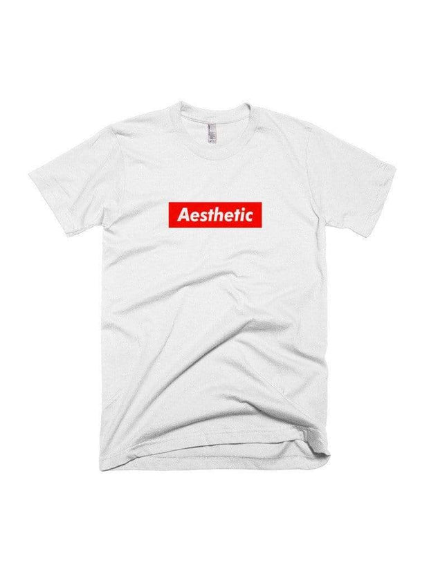 Aesthetic Box Logo T-Shirt - Public Space xyz - vaporwave aesthetic clothing fashion, kawaii, pastel, pastelgrunge, pastelwave, palewave