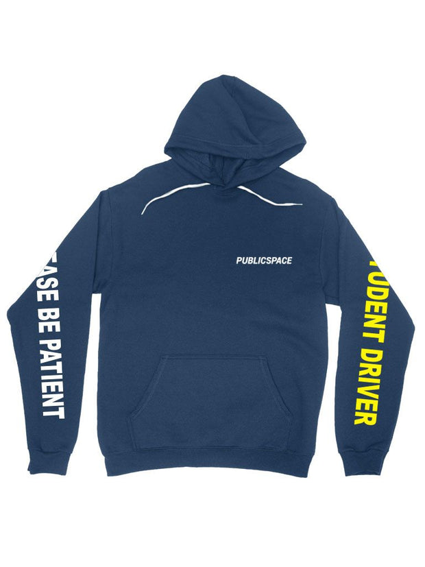 student driver hoodie