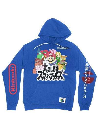 super smash party hoodie