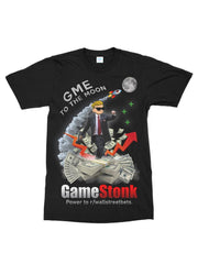 gamestonk to the moon tee