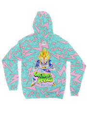the saiyan prince (memphis) zip jacket