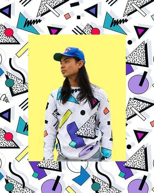 Tennis on April 25th, 1986 Sweatshirt - Public Space xyz - vaporwave aesthetic clothing fashion, kawaii, pastel, pastelgrunge, pastelwave, palewave