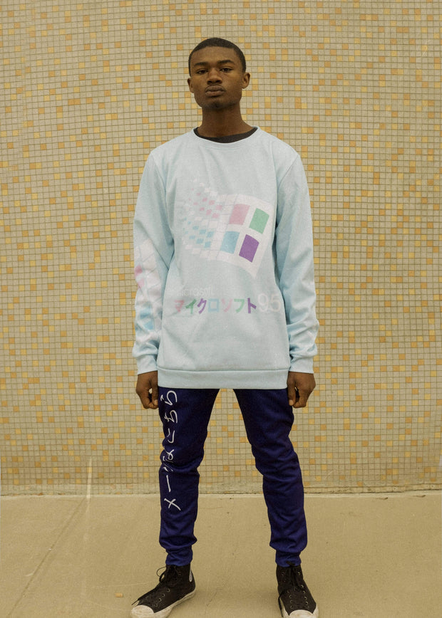 Candy 95 Sweatshirt - Public Space xyz - vaporwave aesthetic clothing fashion, kawaii, pastel, pastelgrunge, pastelwave, palewave