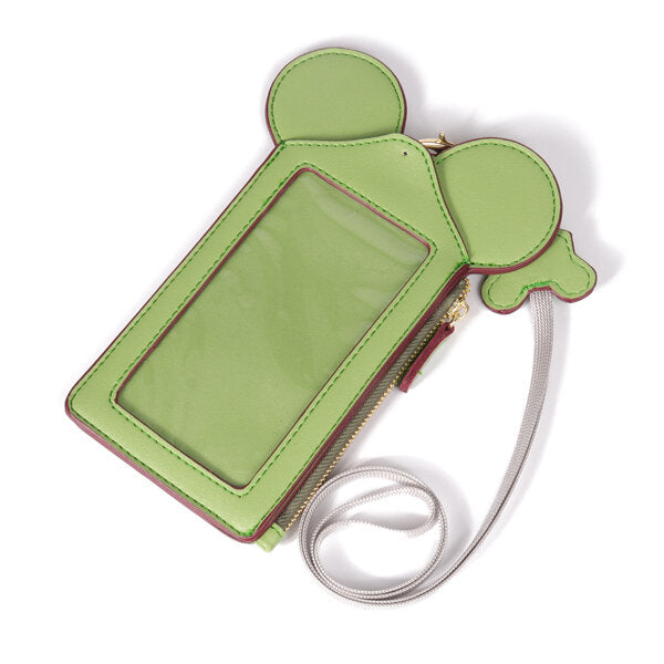 Women Cute Animal Shape Lanyard Phone Wallet Card Holder Coin Purse Neck Bag for 4.7/5.5in Phones