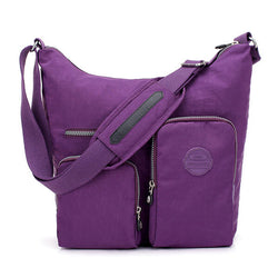 Women Nylon Leisure Waterproof Shoulder Bag Crossbody Bag