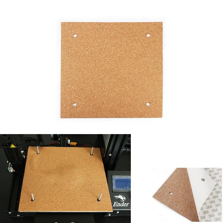 235*235*3mm Heated Bed Hotbed Thermal Heating Pad Insulation Cotton For Ender-3 3D Printer