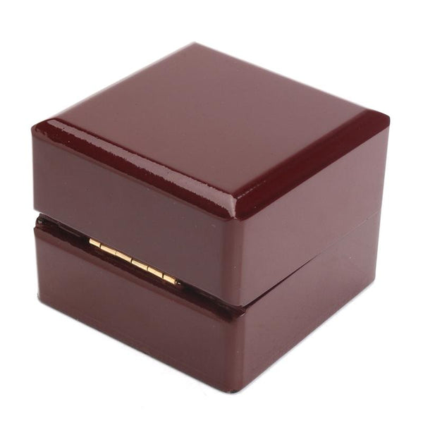 Vintage Wooden Jewelry Gift Collect Ring Storage Box Organizer Case