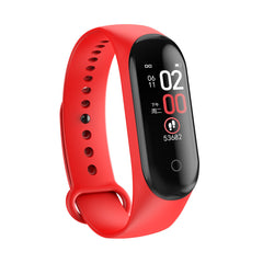 Bakeey M4 Max Color Screen Wristband IP67 Blood Pressure O2 Long Standby Fitness Smart Watch