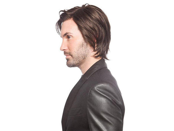 Partial Fashion High Temperature Silk Chemical Fiber Men's Wig