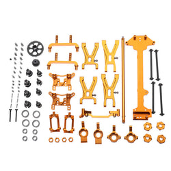 WLtoys 1/18 A949 A959 A969 A979 K929 Upgraded Metal Parts Kit Gold Color
