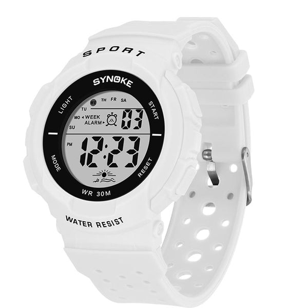 SYNOKE 9617 Fashion Watch 3ATM Waterproof EL light Multiple function Colorful LED Sport Digital Watch