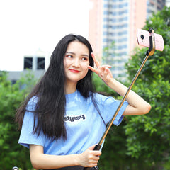 HOCO K12 Extendable bluetooth Selfie Stick Monopod for Cell Phones
