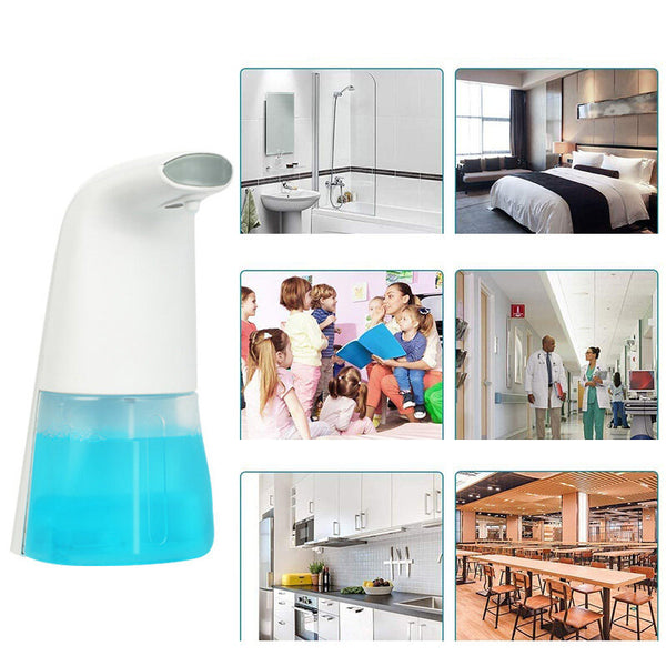 300ml Automatic Soap Dispenser Infrared Sensor Touchless USB Rechargeable Waterproof Foam Liquid Dispenser