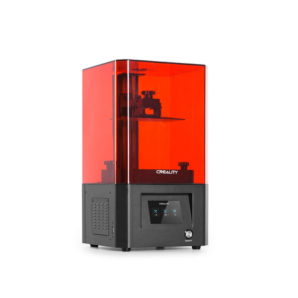 Creality 3D LD-002H UV Resin 3D Printer 130x82x160mm Print Size Air Filtration System with Activated Carbon/Powerful Slicer Software/3.5 Inchi Full-color Touch Screen