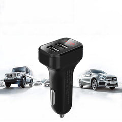 Bakeey 2.1A Dual USB LED Display  Fast Charging Car Charger For iPhone X XS HUAWEI P30 Oneplus 7 XIAOMI MI9 S10 S10+