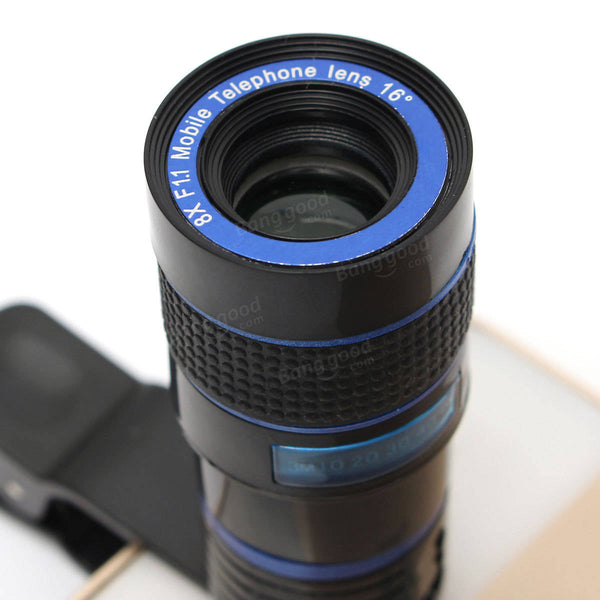 Universal 8X Zoom Optical Lens Telescope For Camera iPhone 7 Xiaomi Samsung