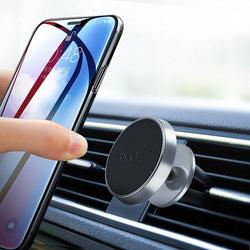 RAXFLY Magnetic Strong Adsorption 360 Degree Rotation Car Mount Holder for iPhone Xiaomi Cell Phone