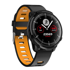 Bakeey L3S Full Touch Heart Rate Blood Pressure Monitor Multi-sport Modes IP68 Waterproof Smart Watch