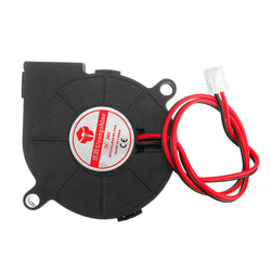 24V 0.15A 5015 Sleeve Bearing Brushless Turbo Cooling Fan with 2Pin XH2.54 Wire for 3D Printer