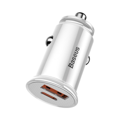 Baseus PPS USB+Type-C QC4.0 3.0 PD3.0 Car Charger for Xiaomi mi 9 Huawei P30 Pro for Samsung