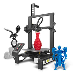 Longer LK4 Pro Open Source FDM 3D Printer Kit 220*220*250mm Print Size Support Filmant Run-out/Resume Print with TMC2208 Driver/4.3inch Touch Screen