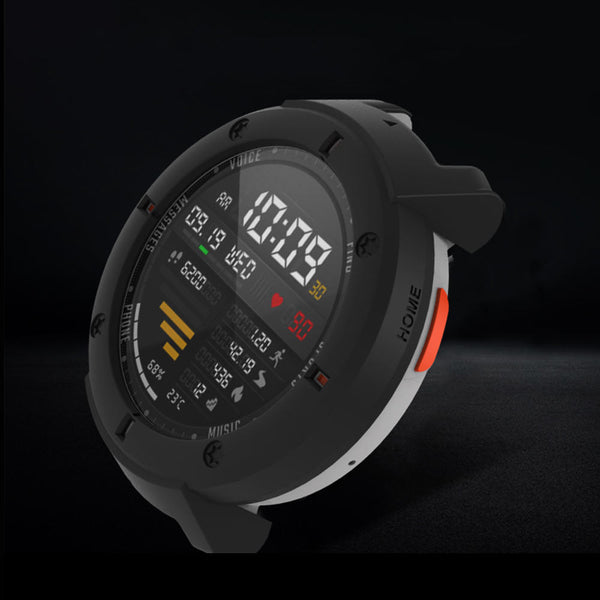 Bakeey Colorful Screen Protector Case Silicone Watch Cover for Amazfit Verge Smart Watch