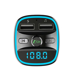Bakeey bluetooth 5.0 Fm Transmitter Car Kit Handsfree Wireless Auto MP3 Player Quick Charge QC3.0 USB Charger