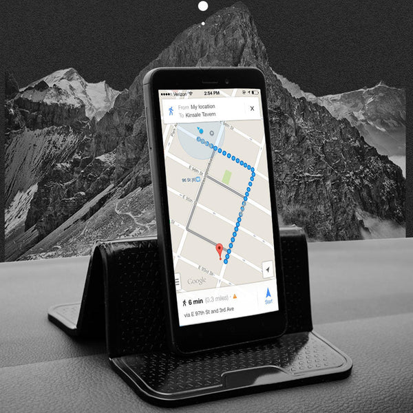 Nano Sticky Adhesive Dashboard Car Phone Holder PU Pad Mat For iPhone Samsung Huawei Xiaomi