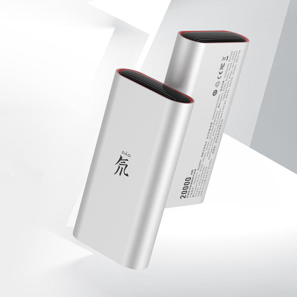 Nubia 45W Flash Charge Deuterium Front Power Bank 20000mAh USB-C PD / USB-A Fast Charging For iPhone XS 11Pro Xiaomi MI10 S20+ Note 20