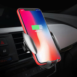 Bakeey 10W 7.5W 5W Intelligent Induction Automatic Locking Fast Charging Car Charger For iPhone 8 Plus XS 11 Pro Huawei P30 Pro Mate 20 Mate 30