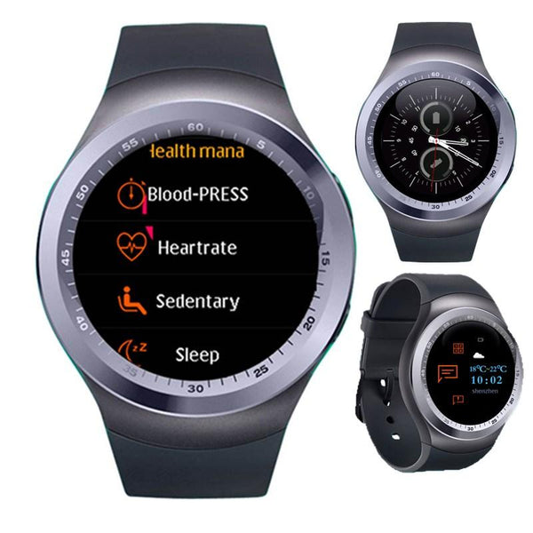 KALOAD Y1 PLUS 1.54'' IPS Screen Smart Watch Heart Rate Monitor Fitness Sport Bracelet