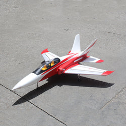 TAFT Hobby TD-05A  Red Super Scorpion 1260mm Wingspan Ducted 90mm EDF Jet RC Airplane Kit with Retractable Landing Gear