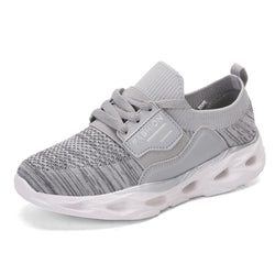 Women Casual Lightweight Mesh Elastic Band Sneakers