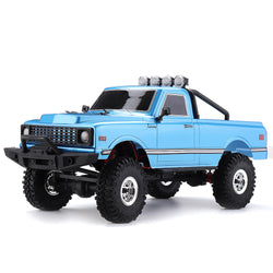 1/18 2.4G Mini Rock Crawler Off-road Indoor Truck RC Car Waterproof ESC Motor 3Line Servo Vehicle Models
