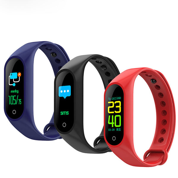 XANES M3 IPS Color Screen IP67 Waterproof Smart Bracelet Heart Rate Sport Smart Watch Mi Band