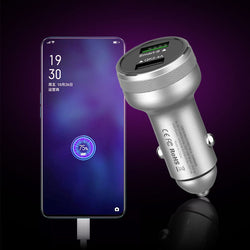 Bakeey USB Car Charger QC3.0 PD Fast Charging For iPhone XS 11Pro Xiaomi Mi10 Redmi Note 9S