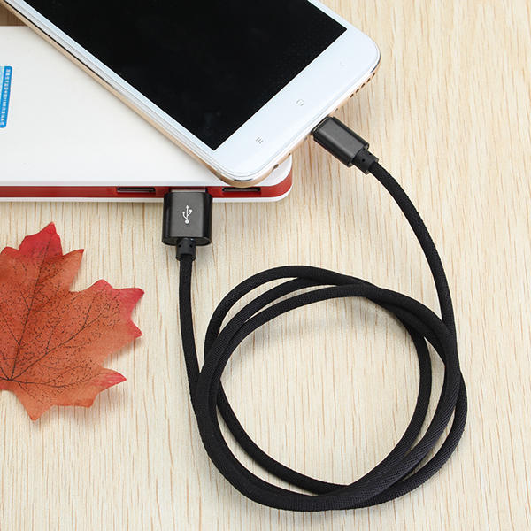 Bakeey Type C Braided Fast Charging Cable 1m For Oneplus 5 5t Xiaomi 6 Mi A1 Mix 2 Samsung S8 Note 8