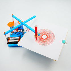 DIY Plotting Instrument Toy DIY Plotter Toy Robot Assembled Toy For Children