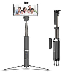 Bakeey Mini Foldable Extended bluetooth Remote Tripod Vlog Selfie Stick Monopod For iPhone Samsung Huawei