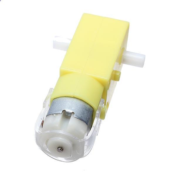 DC 3V - 6V Dual Axis Gear Motor TT Motor For  Smart Chassis Car