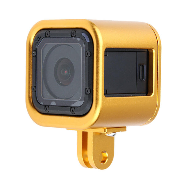 CNC Aluminium Protective Housing Case Cover Frame for GoPro Hero 4 Session 5 Session