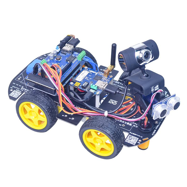 Xiao R STM32 duino Smart Robot Wifi Video Control Car Kit With PTZ