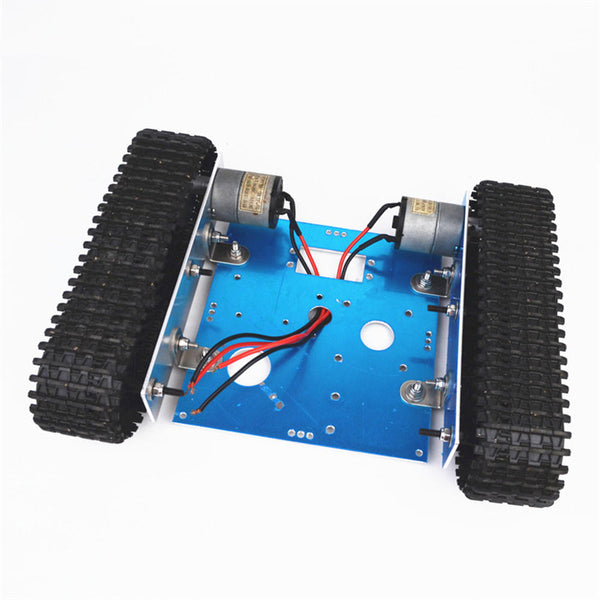 Small Hammer Aluminium DIY RC Robot Car Tank Chassis With DC9-12V  Motor For