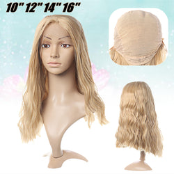 Women Ladies Full Wig Long Wavy Frontal Lace Synthetic Hair Extensions Micro Density