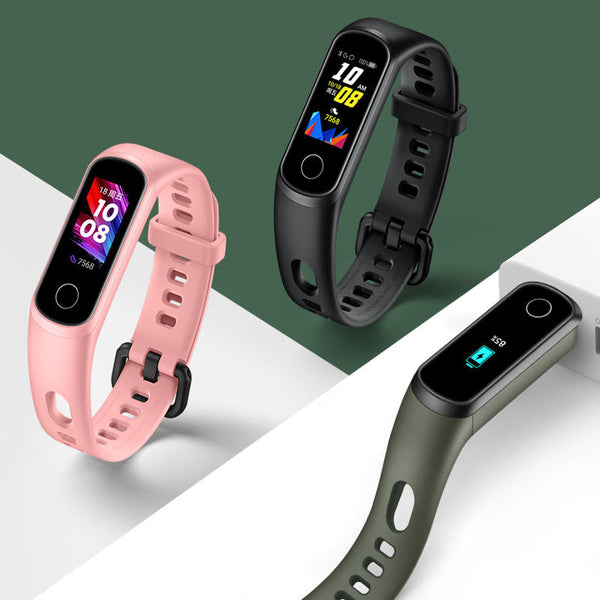 Original Huawei Honor Band 5i Full Touch Wristband SpO2 Blood Oxygen Sleep Monitor USB Charging Smart Watch(Chinese Version)