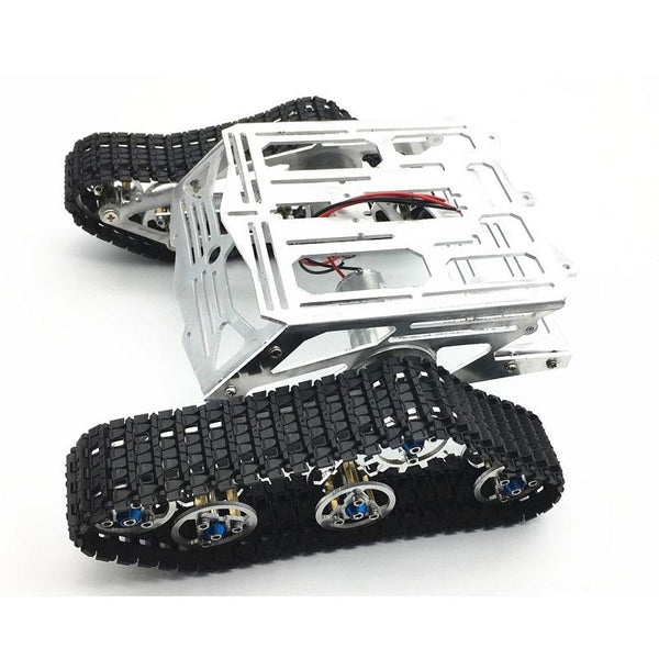 DIY Smart Robot Tank Chassis Kit RC Tracked Car with Crawler Kit for