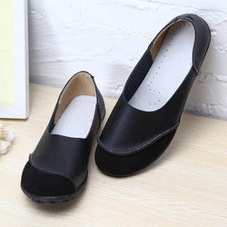 Soft Comfy Slip On Pattern Match Casual Flat Shoes - EY Shopping
