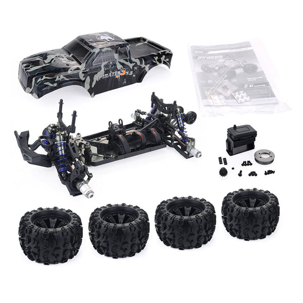 ZD Racing Camouflage Color MT8 Pirates3 1/8 4WD 90km/h Brushless RC Car Kit without Electronic Parts