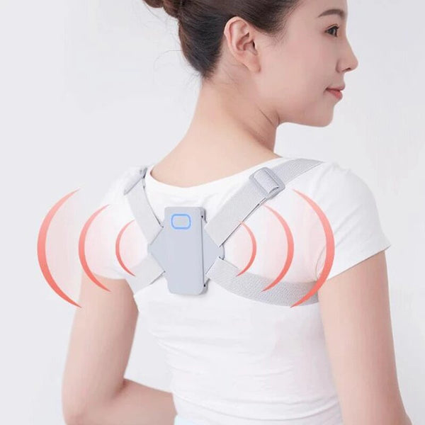 Intelligent Posture Belt Smart Vibration Reminder Correct Posture Wear Breathable Health Care For Kids Adults From Xiaomi Youpin